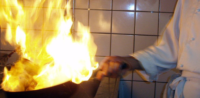Flambering ger smak och effekt