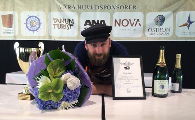 Nordens bästa ostronöppnare 2015