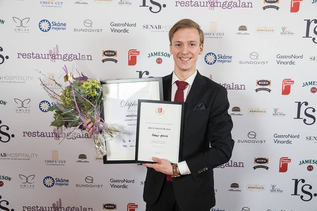 Årets Servitör 2014
