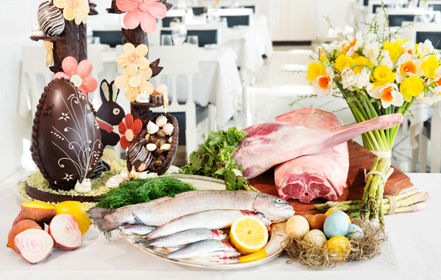 Påskmat & fransk matfest