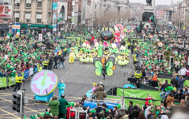 Färgglada St. Patricks Day