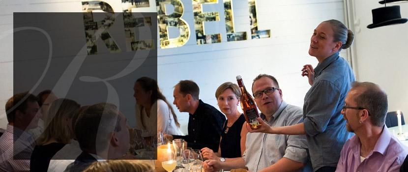 Vinn 4-rättersmeny + kokbok från restaurang Rebell